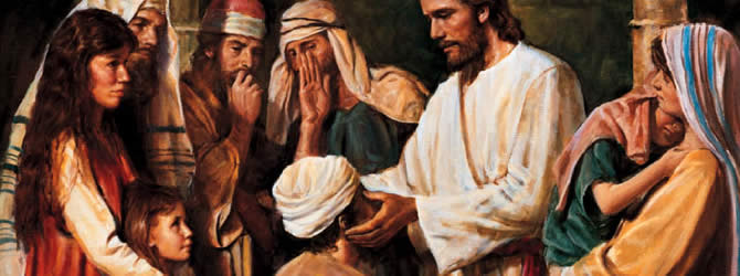 Jesus Heals A Man Born Blind – Faith vs. Sight